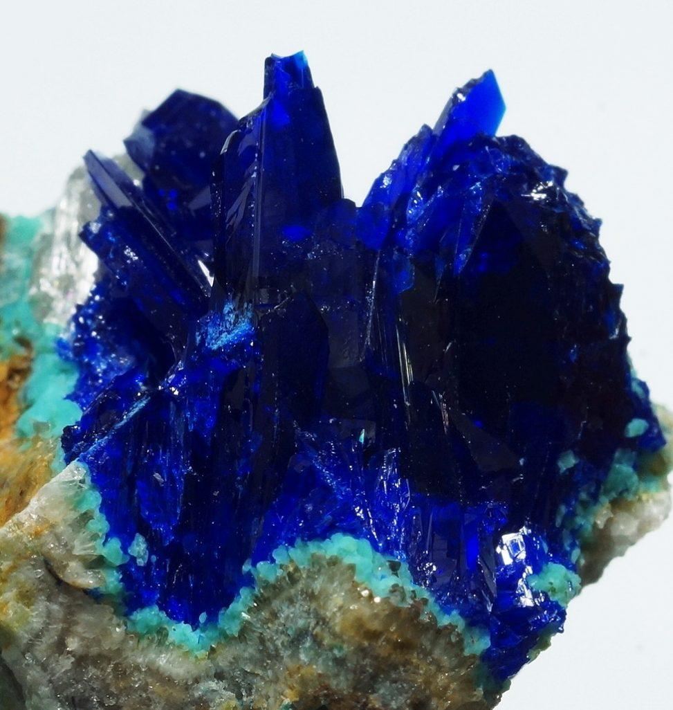 アリゾナ州産リナライト青鉛鉱の希少な高品質標本