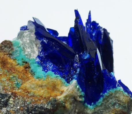 アリゾナ州産リナライト青鉛鉱の美しく希少な高品質標本